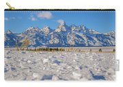 January At The Tetons Carry-all Pouch