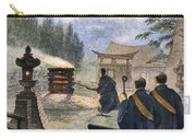 Japan: Cremation, 1890 Carry-all Pouch