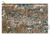 Japan: Earthquake, 1855 Carry-all Pouch