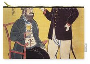 Japan: French Trade, 1861 Carry-all Pouch
