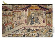 Japan: Kabuki Theater Carry-all Pouch