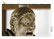 Japan: Warrior Statue Carry-all Pouch