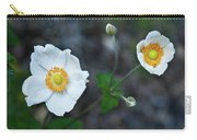 Japanaese Anemone Carry-all Pouch