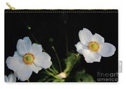Japanese Anemone Flower Carry-all Pouch