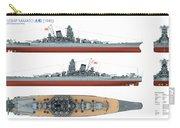 Japanese Battleship Yamato Carry-all Pouch