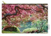 Japanese Burgundy Maple Tree Carry-all Pouch