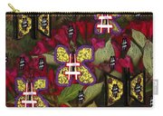 Japanese Butterflies In Modern Style Carry-all Pouch