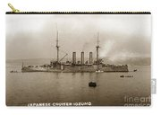 Japanese Cruiser Izumo In Monterey Bay December 1913 Carry-all Pouch