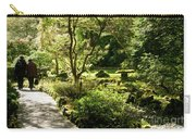 Japanese Garden At Butchart Gardens In Spring Carry-all Pouch