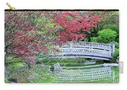Japanese Garden Bridge In Springtime Carry-all Pouch
