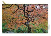 Japanese Garden Lace Leaf Maple Tree In Fall Carry-all Pouch