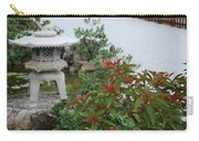 Japanese Garden Lantern Carry-all Pouch