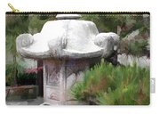 Japanese Garden Stone Lantern Statue Carry-all Pouch