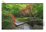 Japanese Garden Strolling Stone Path Carry-all Pouch