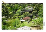Japanese Garden Teahouse Carry-all Pouch