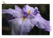 Japanese Iris In Bloom Carry-all Pouch