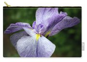 Japanese Iris Unfolding Carry-all Pouch