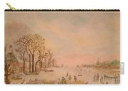 Japanese Light In Remembrance Of Aert Van Der Neer Carry-all Pouch