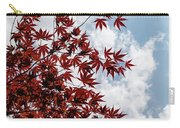 Japanese Maple Red Lace - Vertical Up Right Carry-all Pouch