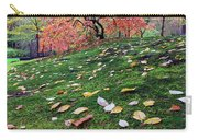 Japanese Maple Tree On A Mossy Slope Carry-all Pouch