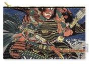 Japanese Samurai Carry-all Pouch