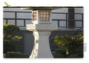 Japanese Stone Pagoda Carry-all Pouch