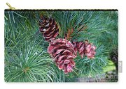 Japanese White Pine Pinecones Carry-all Pouch