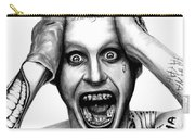 Jared Leto As The Joker Carry-all Pouch