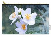 Jasmin Flower Carry-all Pouch