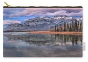 Jasper Talbot Lake Reflections Carry-all Pouch