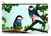 Java Sparrows  #102 Carry-all Pouch