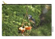 Jay At Feeder Carry-all Pouch