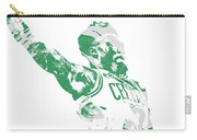 Jaylen Brown Boston Celtics Pixel Art 11 Carry-all Pouch