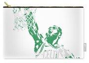 Jaylen Brown Boston Celtics Pixel Art 12 Carry-all Pouch
