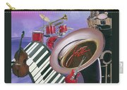 Jazz At Sunset Carry-all Pouch
