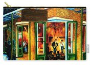 Jazz At The Maison Bourbon Carry-all Pouch by Diane Millsap