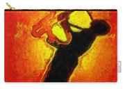 Jazz Festival Orange - Pa Carry-all Pouch