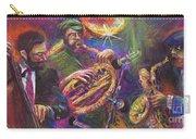 Jazz Jazzband Trio Carry-all Pouch by Yuriy Shevchuk
