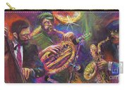 Jazz Jazzband Trio Carry-all Pouch by Yuriy  Shevchuk