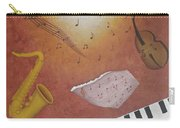 Jazz Music Carry-all Pouch