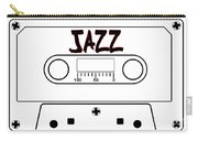 Jazz Music Tape Cassette Carry-all Pouch