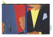 Jazz Sharp Carry-all Pouch by Kaaria Mucherera