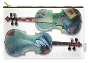 Jazz Violin - Poster Carry-all Pouch