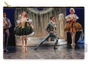 Jealous Stepsister Ballerinas En Pointe With Guests At The Ball  Carry-all Pouch