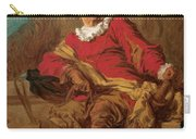 Jean-claude Richard Abbe Of Saint-non Carry-all Pouch