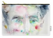 Jean Cocteau - Watercolor Portrait.2 Carry-all Pouch