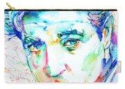Jean Gabin - Colored Pens Portrait Carry-all Pouch