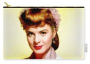 Jean Peters, Vintage Actress Carry-all Pouch