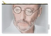 Jean Reno Carry-all Pouch by TortureLord Art