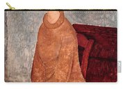 Jeanne Hebuterne In A Yellow Jumper Carry-all Pouch by Amedeo Modigliani